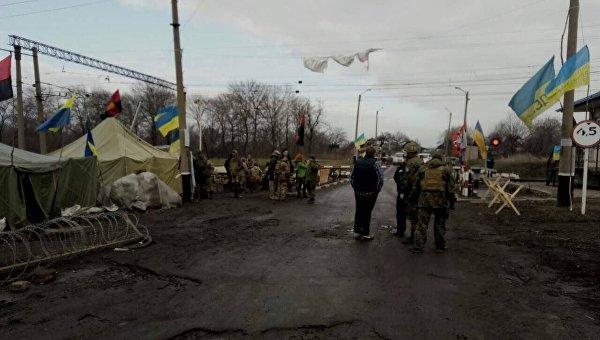 СБУ задержала 43 «блокадника» с8 стволами. «Самопомич» организовала митинг вКиеве
