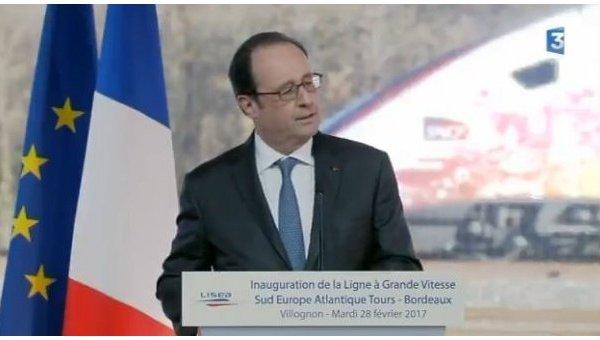 Снайпер случайно ранил 2 человек впроцессе выступления Франсуа Олланда