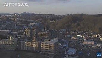 В районе Фукусимы новое землетрясение