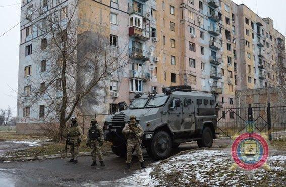 Руководство милиции вывело спецподразделение КОРД изАвдеевки