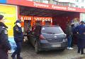 В Одессе автомобиль влетел в остановку с людьми