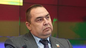 Глава ЛНР Игорь Плотницкий. Архивное фото