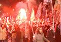 Польские националисты прошли с факелами по Варшаве в честь проклятых солдат