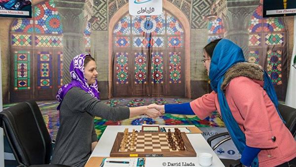 А.Музычук проиграла вторую партию вфинале чемпионата мира пошахматам