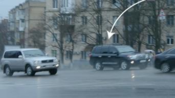 В кортеже Гройсмана появился новый автомобиль. Видео