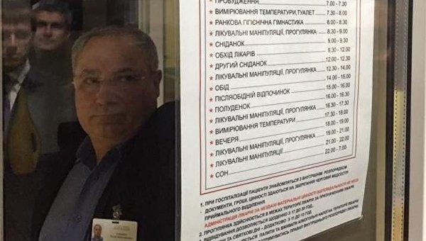 Задержание Романа Насирова. Вахтер не впускает НАБУ в Феофанию