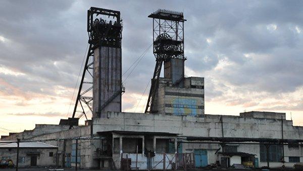 Здание шахты Степная во Львовской области