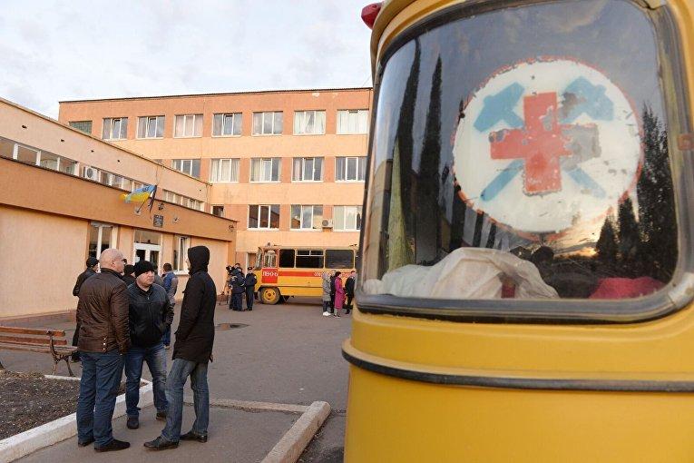 Шахта Степная во Львовской области