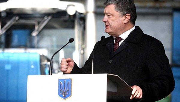 Порошенко объявил, что унего небыло цели стать президентом государства Украины