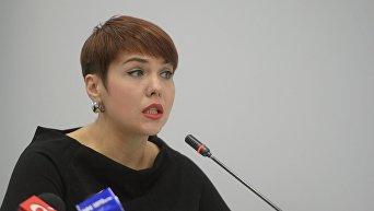 Политолог, ведущий аналитик Международного информационно-аналитического Центра Развитие Украины Александра Решмедилова