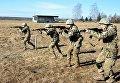 Полевые учения выпускников Национальной академии сухопутных войск