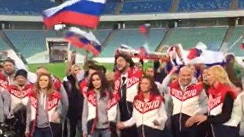 Киркоров и Орбакайте в Сочи снялись в клипе гимна ЧМ-2018 по футболу. Видео
