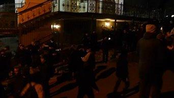 Митинг под Соломенским судом