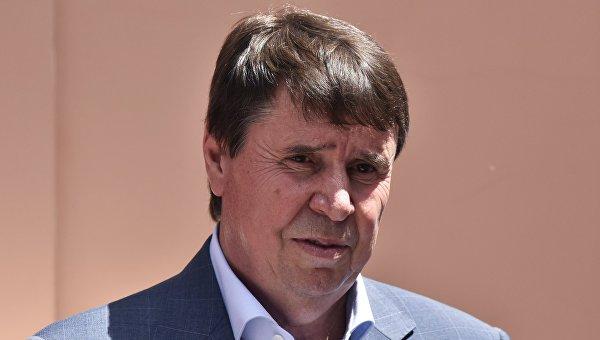 Председатель Русской общины Крыма, член Совета Федерации России от Крыма Сергей Цеков
