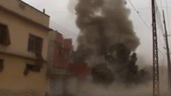Химическая атака в Мосуле. Видео
