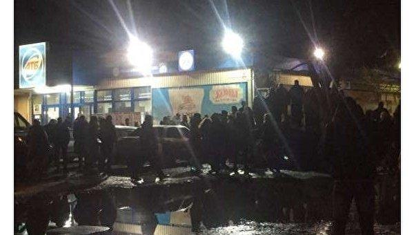 Массовый конфликт в Харькове