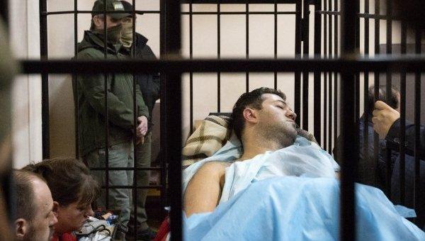 Роман Насиров на суде