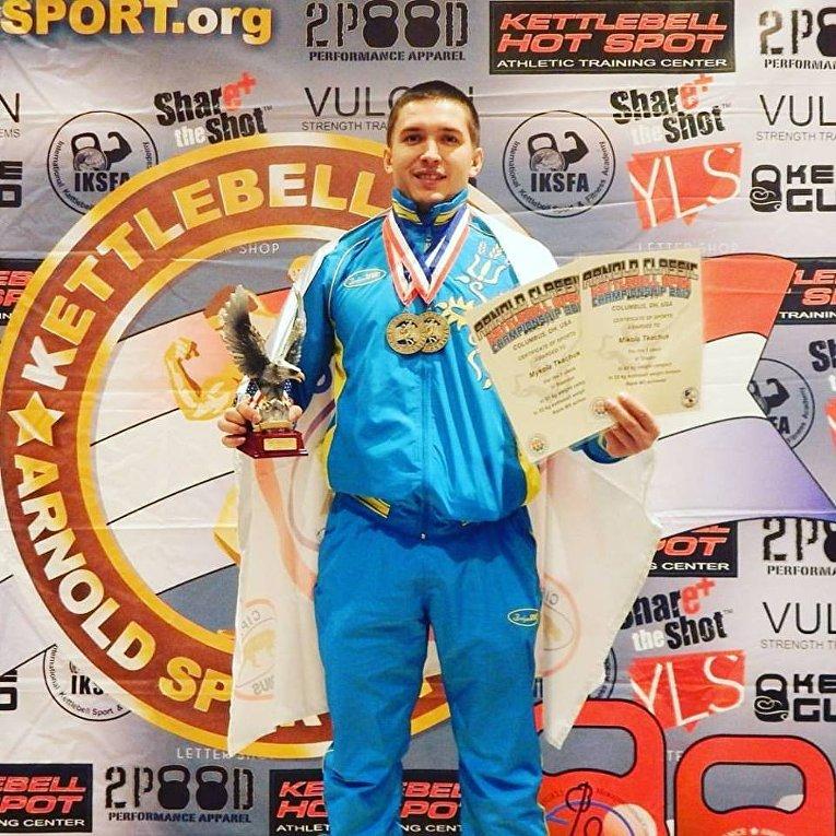 Николай Ткачук на Arnold Classic-2017