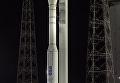 Пуск ракеты Vega с украинским двигателем