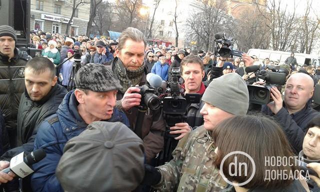 Блокада Донбасса: тысячи граждан Краматорска вышли наакцию протеста