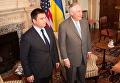 Глава МИД Украины Павел Климкин и государственный секретарь СШа Рекс Тиллерсон