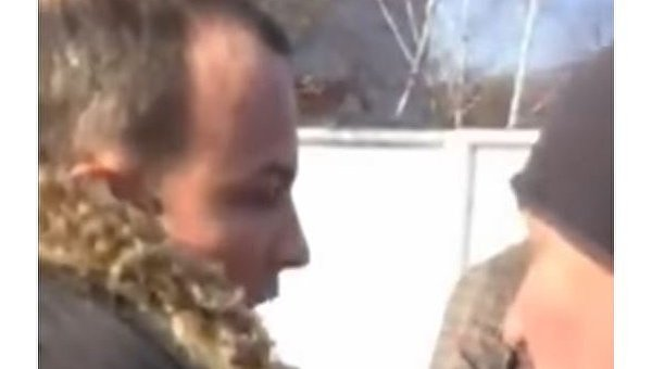 Жители Конотопа прогнали Соболева из города
