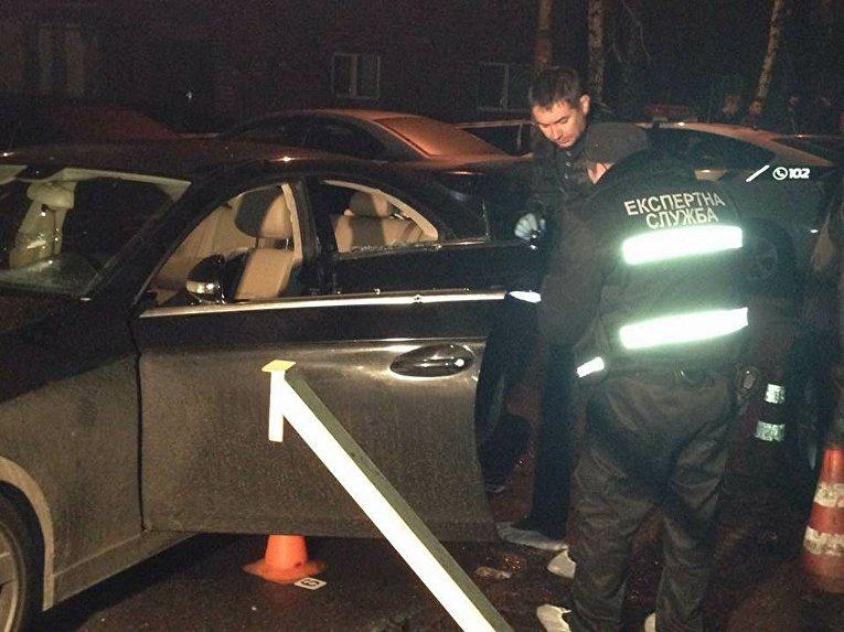 Расстрел авто в Киеве