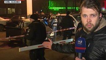 Убийство бизнесмена в Киеве. Видео