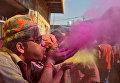 Фестиваль красок в Индии