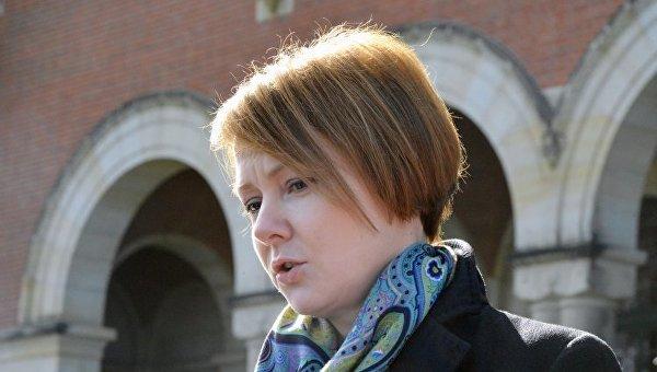 Заместитель министра иностранных дел Украины Елена Зеркаль. Архивное фото