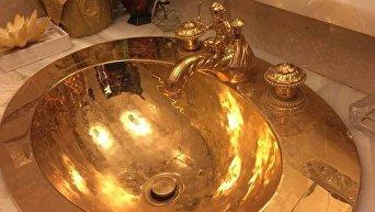 Раковина из золота