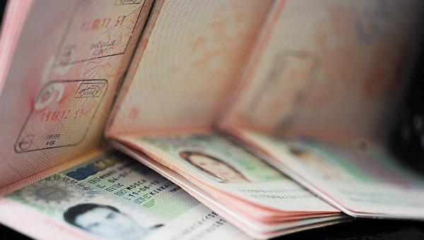 Шенгенская виза - заграничные паспорта РФ