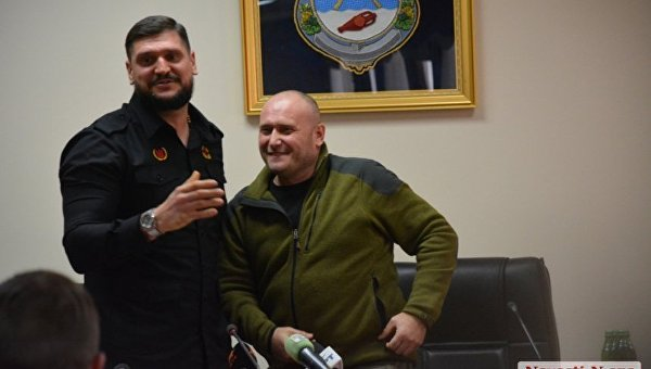 Алексей Савченко (слева) и Дмитрий Ярош