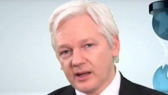 Пресс-конференция Джулиана Ассанжа в связи с публикациями утечек из ЦРУ. Видео