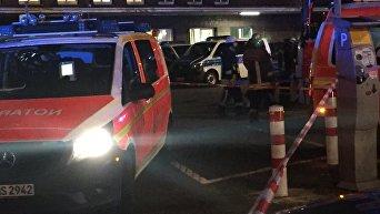 Нападение на вокзале в Дюссельдорфе. Эвакуация раненых