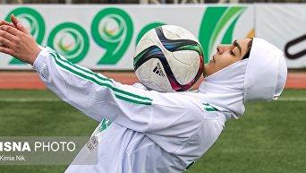 День женского футбола в Иране