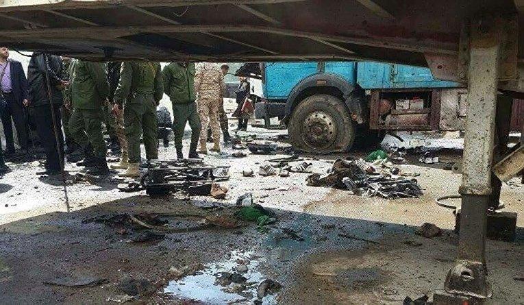 Теракт в Дамаске