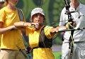 Украинка Вероника Марченко стала чемпионкой Европы по стрельбе из лука