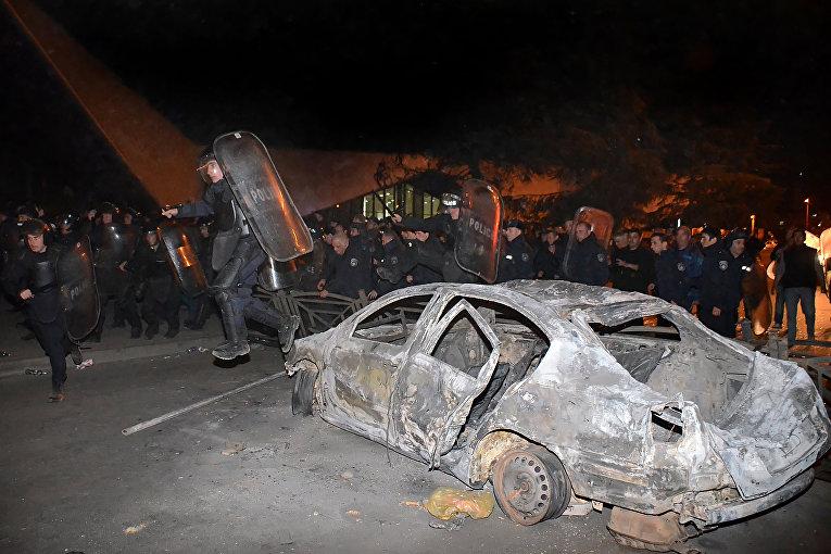Протесты в Батуми
