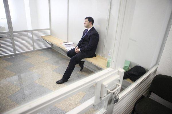 Рассмотрение жалобы на меру пресечения Роману Насирову в Апелляционном суде Киева