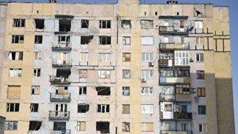 Авдеевка после обстрелов. Архивное фото