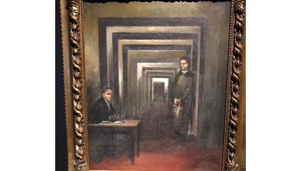 Картину Гитлера представили навыставке, аИталии