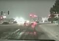 Снежный шторм с США