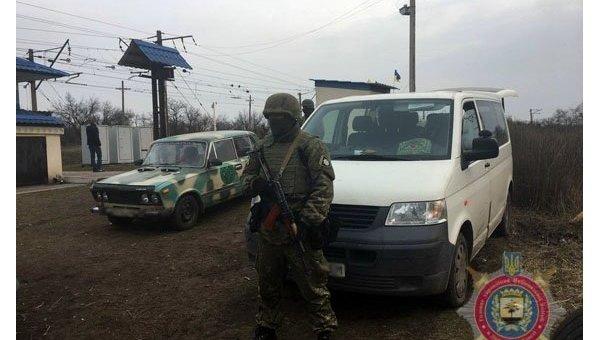 Спецоперация спецназа полиции близ Кривого Торца