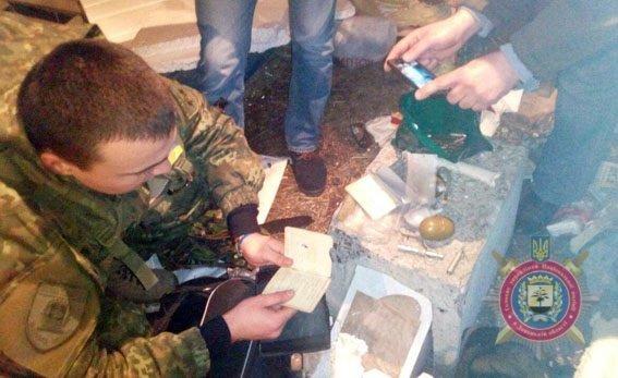 Оружие, изъятое у участников блокады в Донбассе