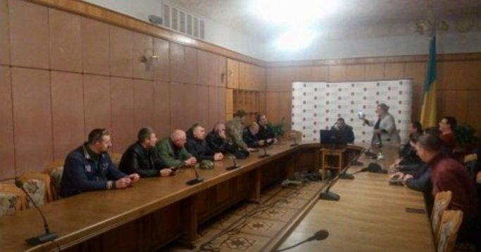 Встреча активистов с руководством Львовской области