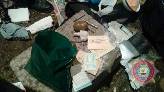 Оружие и боеприпасы, изъятые у участников блокады в Донбассе