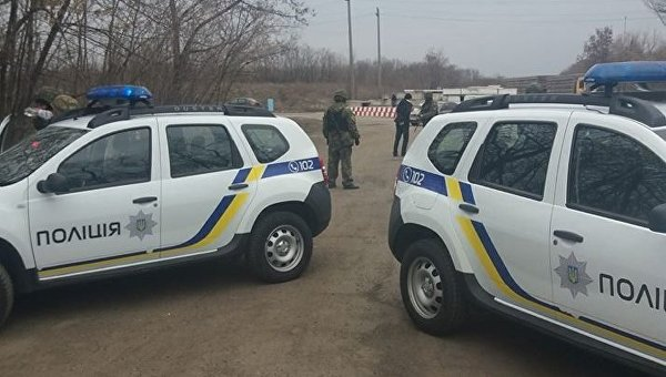 Ситуация в районе блокады Донбасса
