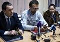 Заседание в Печерском райсуде по делу о квартире Лещенко