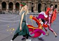 Серия фотоколлажей о моделях Сиднея Праватитина